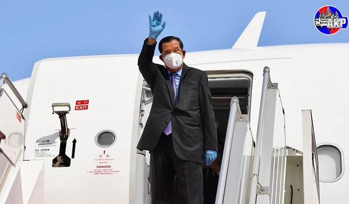 Thủ tướng Hun Sen đón tin mừng sau khi bị cách ly 14 ngày - Ảnh 1.