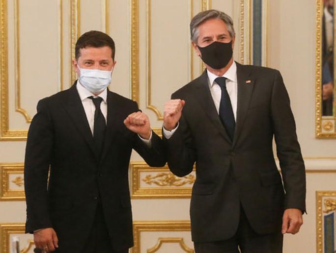Mỹ - Ukraine tăng cường hợp tác quốc phòng - Ảnh 1.
