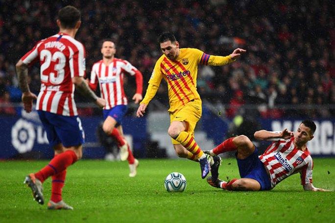 Barcelona - Atletico: Chung kết sớm ở Nou Camp - Ảnh 1.