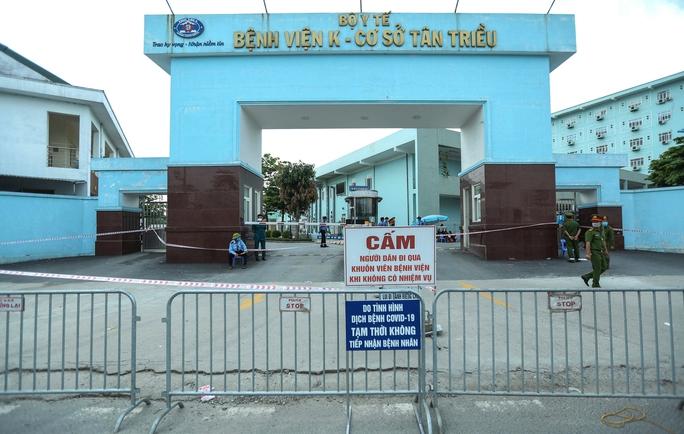Phong tỏa Bệnh viện K Trung ương - Ảnh 1.