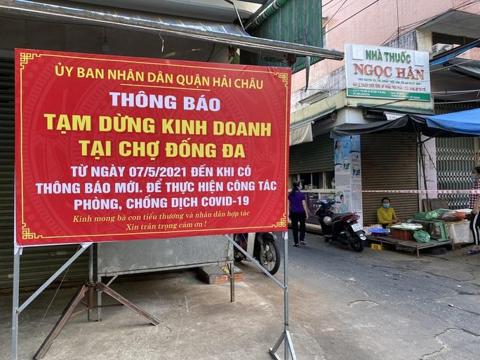 Phong tỏa toàn bộ khu chợ Đống Đa - Đà Nẵng - Ảnh 5.