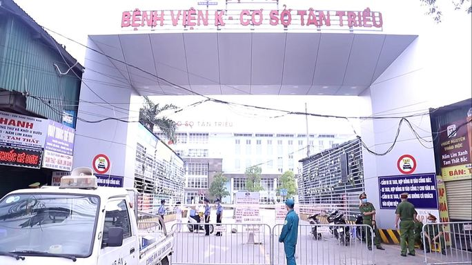 Phong tỏa, cách ly y tế 10 bệnh viện trên cả nước vì Covid-19 - Ảnh 1.