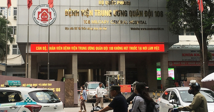 Bệnh viện Trung ương Quân đội 108 dừng tiếp nhận bệnh nhân chuyển tuyến từ ngày 8-5 - Ảnh 1.