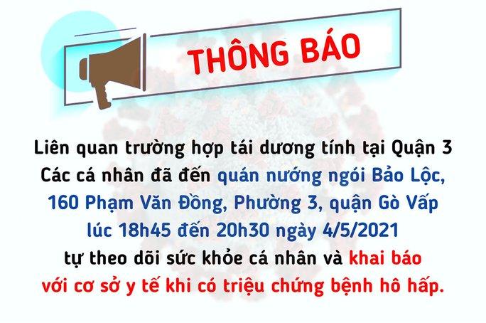 KHẨN: TP HCM truy tìm người từng đến 1 quán nướng trên đường Phạm Văn Đồng - Ảnh 1.