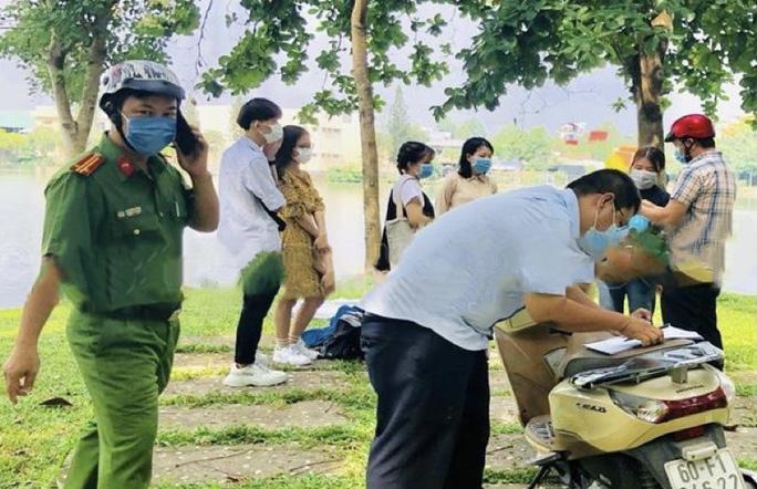 55 người ở TP Biên Hoà bị xử phạt vì không đeo khẩu trang nơi công cộng - Ảnh 1.