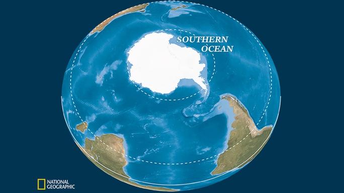 Trái Đất có thêm đại dương thứ 5: tròn, lạnh và bí hiểm - Ảnh 1.