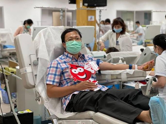Lượng máu dự trữ tại TP HCM đã ổn định - Ảnh 1.