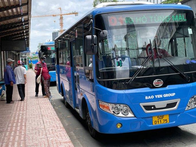 Lùm xùm đấu thầu 4 tuyến xe buýt - Ảnh 1.