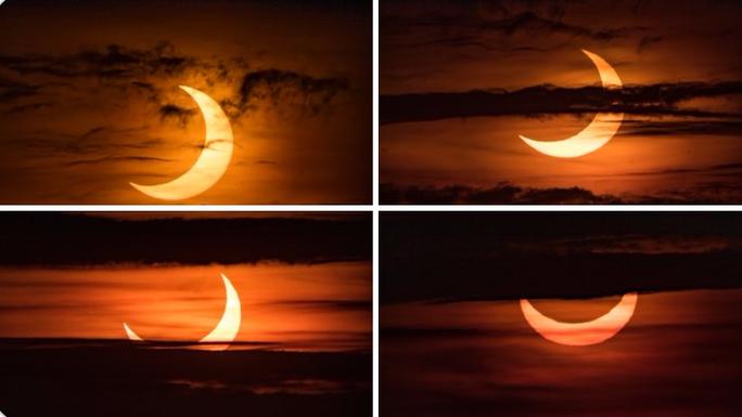 Chiêm ngưỡng nhật thực vòng lửa Bắc Cực xuất hiện khắp thế giới - Ảnh 5.