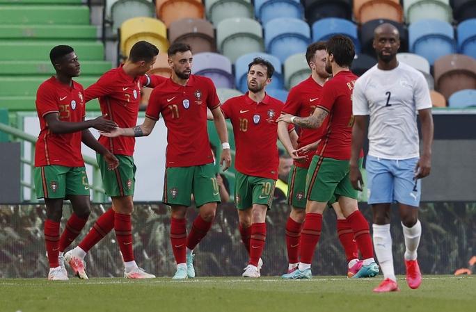 Bruno Fernandes bùng nổ giao hữu, Bồ Đào Nha đè bẹp Israel - Ảnh 5.
