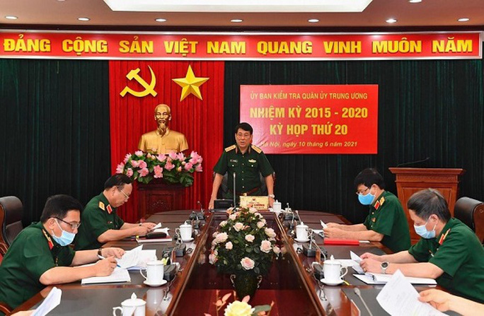 Ủy ban kiểm tra Quân ủy Trung ương đề nghị kỷ luật 12 quân nhân - Ảnh 1.
