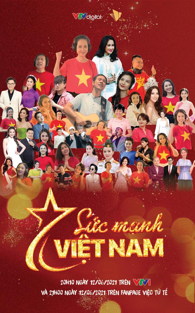 Ca sĩ Thanh Lam, Đông Nhi cùng dàn hoa hậu, nghệ sĩ hoà giọng trong MV Sức mạnh Việt Nam - Ảnh 1.