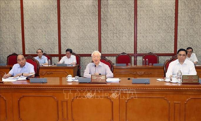 Tổng Bí thư chủ trì họp Bộ Chính trị về phòng chống dịch Covid-19 - Ảnh 2.