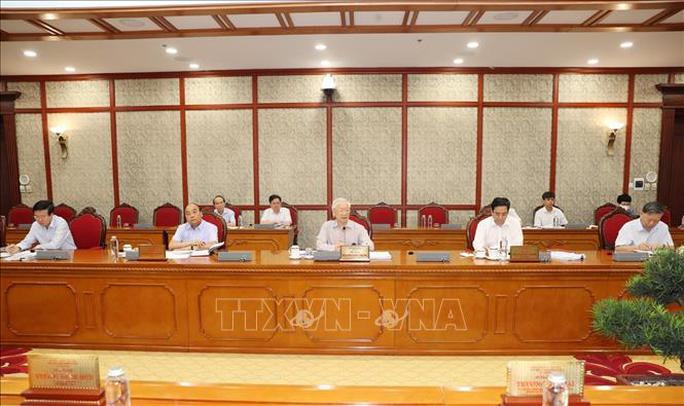 Tổng Bí thư chủ trì họp Bộ Chính trị về phòng chống dịch Covid-19 - Ảnh 4.