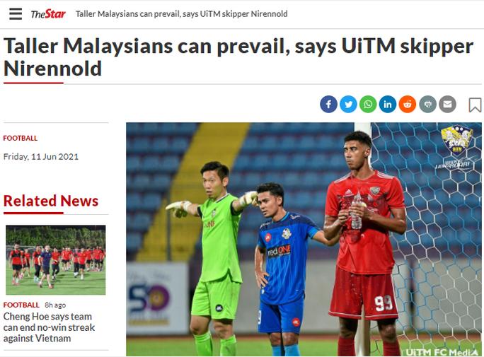 Báo chí thể thao Malaysia viết gì trước trận chạm trán tuyển Việt Nam? - Ảnh 7.