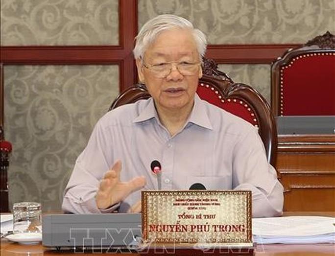 Tổng Bí thư chủ trì họp Bộ Chính trị về phòng chống dịch Covid-19 - Ảnh 3.