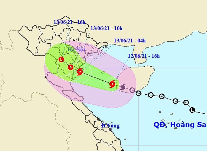 Bão số 2 giật cấp 10 trên Vịnh Bắc Bộ, đổ bộ từ Hải Phòng - Nghệ An - Ảnh 1.