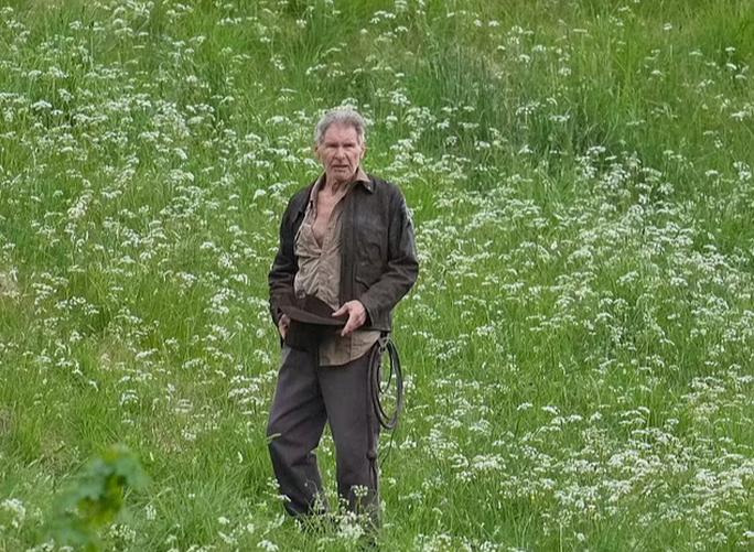 """Tuổi 78, tài tử Harrison Ford mạo hiểm với """"Indiana Jones 5"""" - Ảnh 1."""