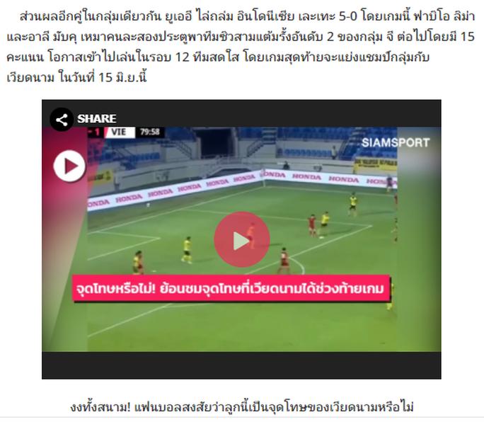 Báo chí Thái Lan, Malaysia ấn tượng với chiến thắng của tuyển Việt Nam - Ảnh 3.