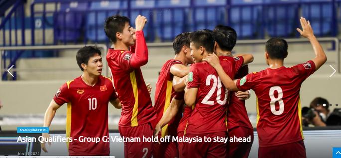 Truyền thông châu Á ngợi khen chiến thắng của Việt Nam trước Malaysia - Ảnh 2.