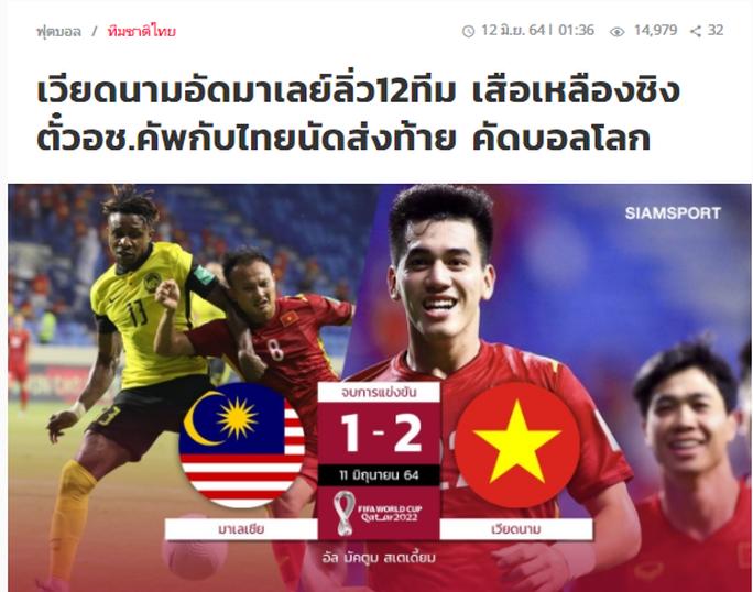 Báo chí Thái Lan, Malaysia ấn tượng với chiến thắng của tuyển Việt Nam - Ảnh 4.