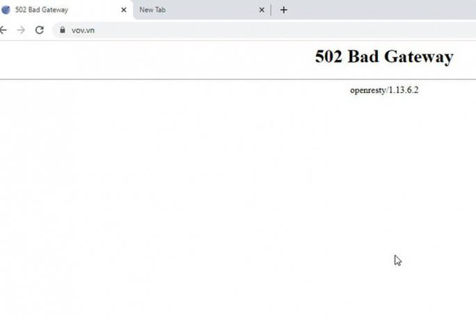 Bộ Công an điều tra cuộc tấn công mạng nhằm vào Báo điện tử Đài tiếng nói Việt Nam - Ảnh 1.