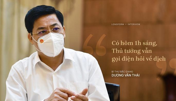 Bí thư Tỉnh ủy Bắc Giang: Thủ tướng ngày nào cũng gọi điện, có khi 1 giờ sáng - Ảnh 1.