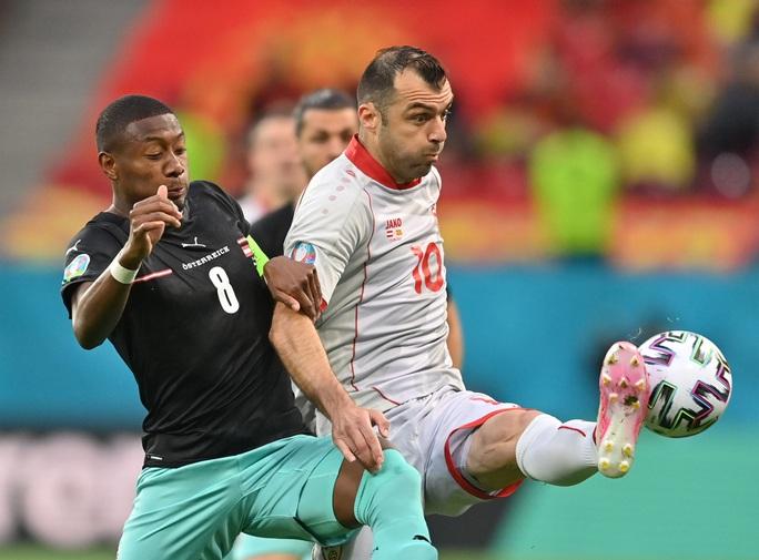 Sao 38 tuổi ghi bàn lịch sử, Bắc Macedonia trắng tay trước Áo - Ảnh 1.