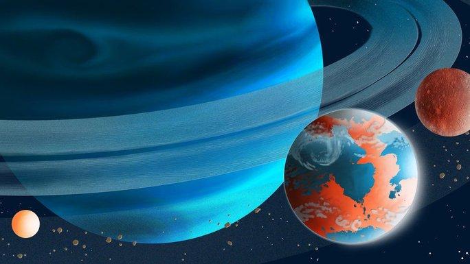 Mặt trăng bóng tối là nơi trú ngụ của sinh vật ngoài hành tinh? - Ảnh 1.