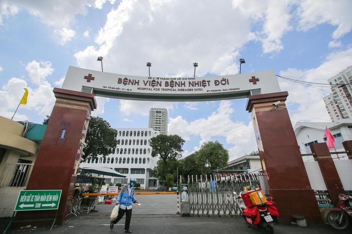 Bệnh viện Bệnh nhiệt đới TP HCM cảnh báo việc lừa đảo kêu gọi tài trợ - Ảnh 1.