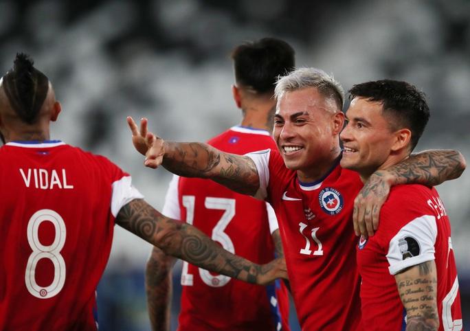 Messi lập siêu phẩm, Argentina chia điểm tiếc nuối với Chile - Ảnh 6.
