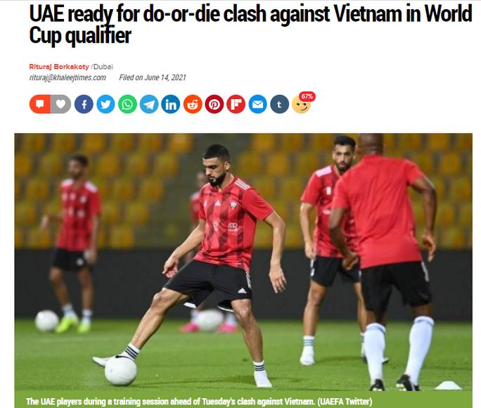Truyền thông UAE nói gì trước trận đấu với tuyển Việt Nam? - Ảnh 2.