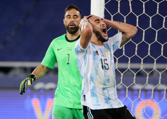 Messi lập siêu phẩm, Argentina chia điểm tiếc nuối với Chile - Ảnh 2.