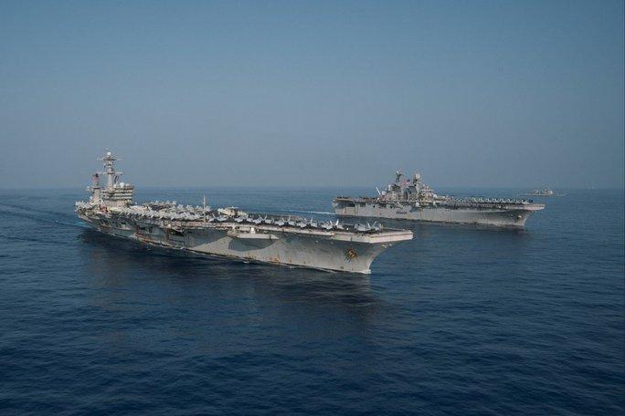 Lầu Năm Góc lập đặc nhiệm hải quân ở Thái Bình Dương? - Ảnh 1.
