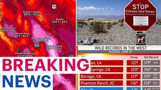 Thung lũng Chết sắp phá kỷ lục thiêu đốt 56,7 độ C - Ảnh 1.