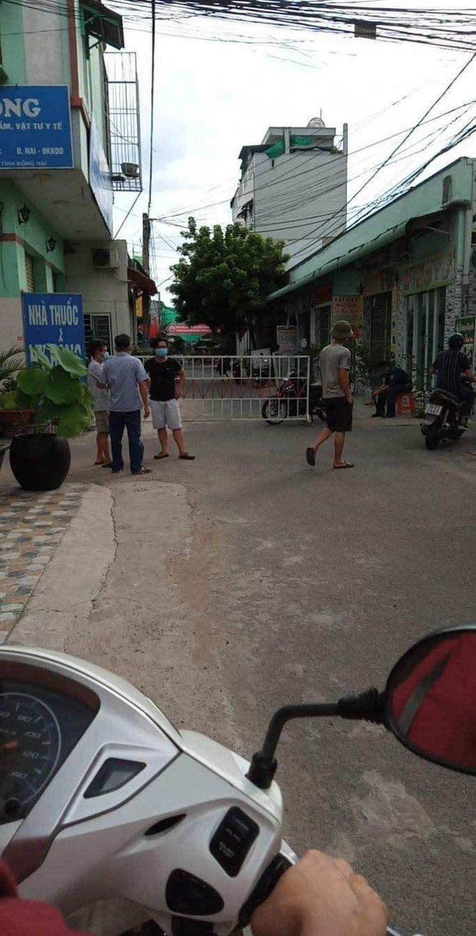Đồng Nai phong tỏa chợ ở Long Bình Tân bên cạnh siêu thị Big C - Ảnh 5.