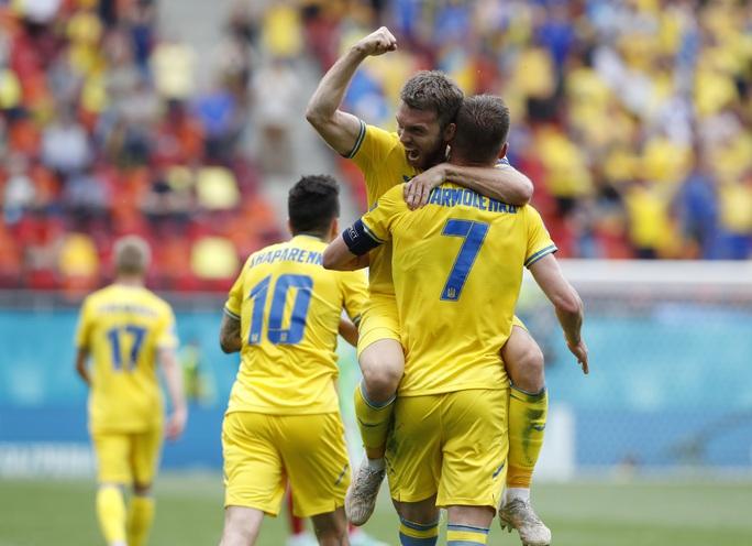 Ukraine có 3 điểm thót tim trước Bắc Macedonia - Ảnh 1.