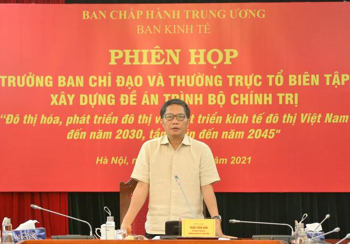 Trình Bộ Chính trị ban hành nghị quyết về phát triển đô thị - Ảnh 2.