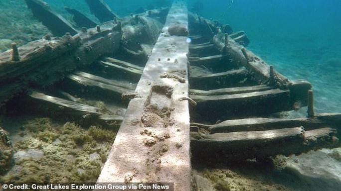 Mỹ: Tìm thấy con tàu bị nguyền rủa sau 350 mất tích - Ảnh 1.
