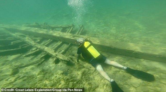 Mỹ: Tìm thấy con tàu bị nguyền rủa sau 350 mất tích - Ảnh 2.