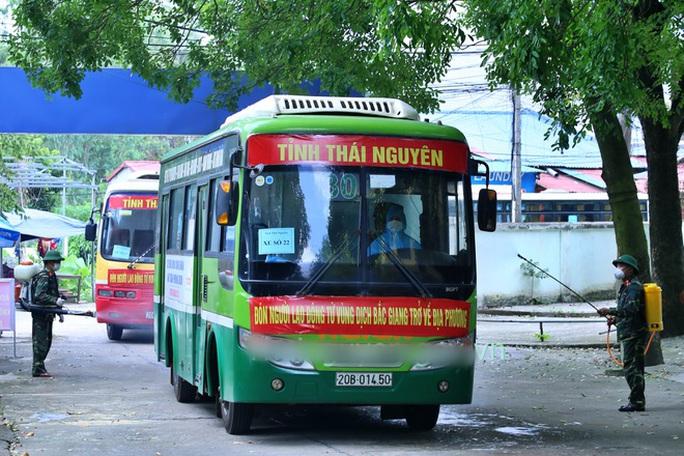 Công nhân vùng dịch Bắc Giang không đến điểm xe đón, tỉnh Thái Nguyên khẩn trương truy tìm - Ảnh 1.