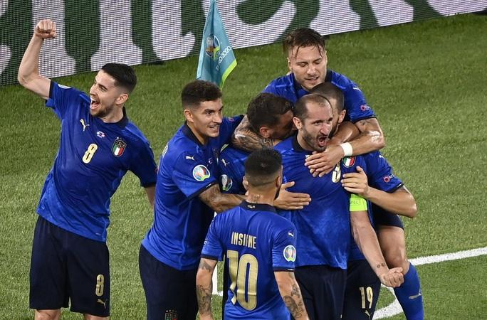 Vùi dập Thụy Sĩ 3-0, tuyển Ý lập đại công vòng bảng Euro - Ảnh 8.