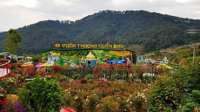 Lâm Đồng hợp thức hóa Vườn Thượng Uyển Bay từng xôn xao do xây dựng không phép - Ảnh 1.
