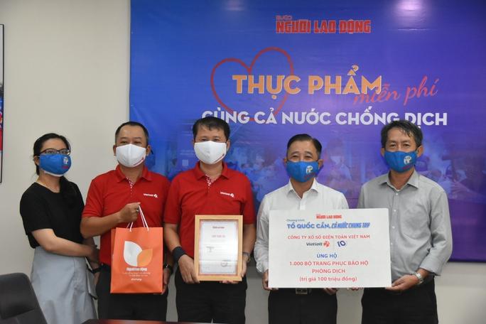 Nhiều doanh nghiệp đồng hành với chương trình của Báo Người Lao Động - Ảnh 1.