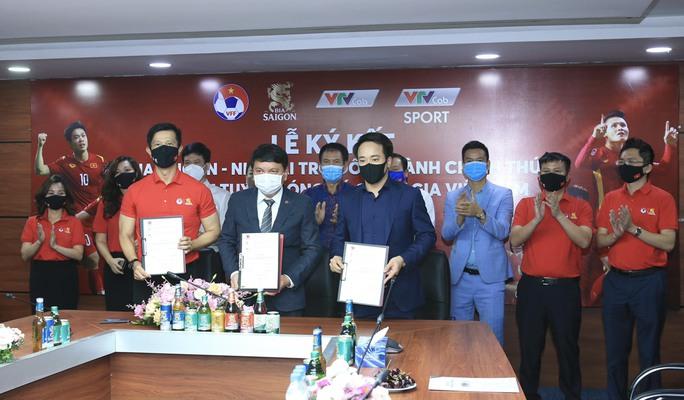 Các đội tuyển bóng đá Quốc gia Việt Nam có nhà tài trợ độc quyền - Ảnh 1.
