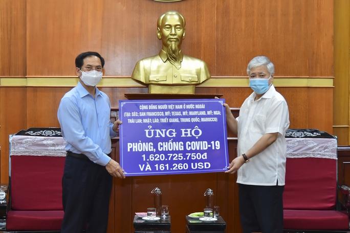 Kiều bào kêu gọi góp vắc-xin cho Việt Nam - Ảnh 1.