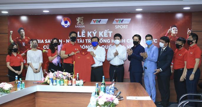Các đội tuyển bóng đá Quốc gia Việt Nam có nhà tài trợ độc quyền - Ảnh 2.
