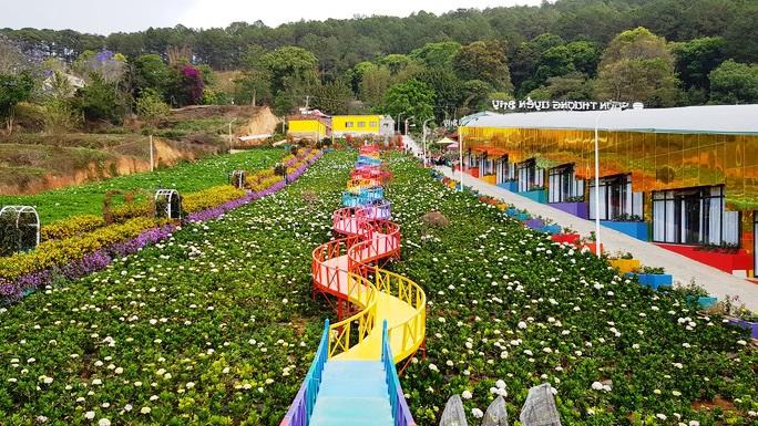 Lâm Đồng hợp thức hóa Vườn Thượng Uyển Bay từng xôn xao do xây dựng không phép - Ảnh 2.