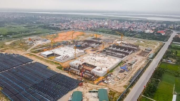 CLIP: Toàn cảnh dự án nhà máy nước mặt sông Hồng 3.700 tỉ đồng chậm tiến độ - Ảnh 4.
