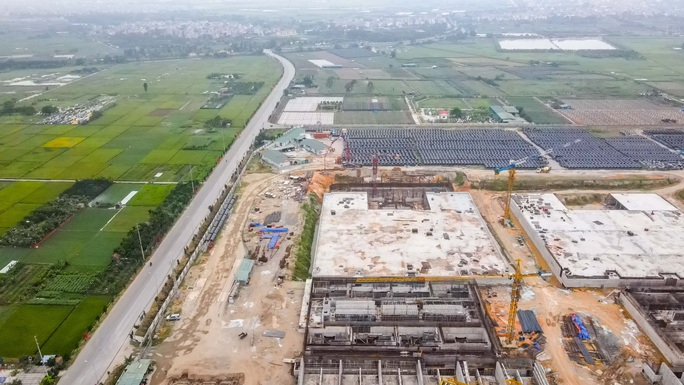 CLIP: Toàn cảnh dự án nhà máy nước mặt sông Hồng 3.700 tỉ đồng chậm tiến độ - Ảnh 5.